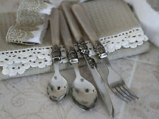 Chic Antique 16teiliges Besteckset Antik Champagner Vintage Shabby Chic Brocante