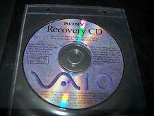 Sony VAIO Recovery CD PVC 100/120 Ver. 2.00.62 1-759-381-13 - 1997