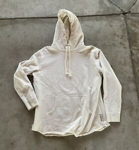 Mens Kith Classics Cream Box Logo Pullover Sweatshirt Size Medium KITH