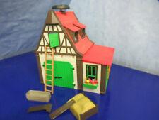 3716 Fachwerk Bauernhof Gebäude Haupt + Nebengebäude Playmobil 2275