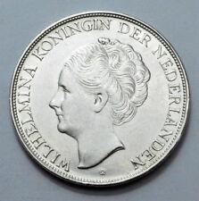 1944-D Nederlands CURACAO 2 1/2 GULDEN SILVER COIN , Rare OLD!