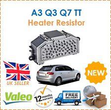 For Audi A3 Q3 Q7 TT 8P1 8PA 8U 4L 8J3 Valeo Heater Resistor New