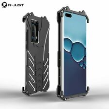 R-JUST Aluminum Metal Shockproof Heavy Duty Back Case For Huawei P40 Pro / P40