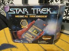 STAR TREK THE NEXT GENERATION MEDICAL TRICORDER ELECTRONIC PLAYMATES TOY PROP