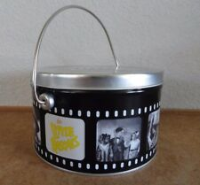 New Old Stock The Little Rascals Fillm Strip Tin Pail with lid and handle