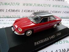 Voiture 1/43 IXO altaya Voitures d'autrefois : PANHARD 24 BT 1965
