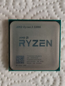 AMD Ryzen 3 2200G 4x 3,5GHz Turbo 3,7GHz 8MB L3-Cache, Vega 8, AM4, Tray, Top