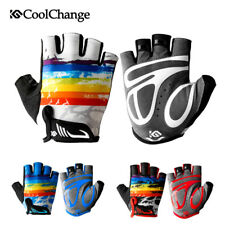 Outdoor Kids Children Racing Cycling Gloves Short Finger Bike Gloves Breathable