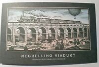Czech Republic 2021, Markenheft, Negrelli Viadukt, 8 mit 4 Zf. MNH**