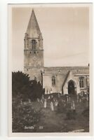 Barnack Church Cambridgeshire Vintage RP Postcard 930b