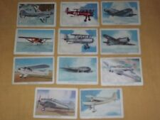 VINTAGE OLD TOBACCO 11 WINGS CIGARETTES AIRPLANES TRADING CARDS