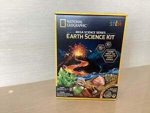 National Geographic STEM Earth Science Kit Mega Science Series
