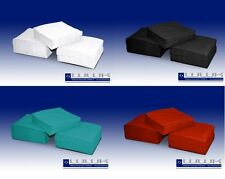 Servietten weiß  hochwertig 3 lagig Zellstoff 1/4 Falz 33 x 33 cm Prägeserviette