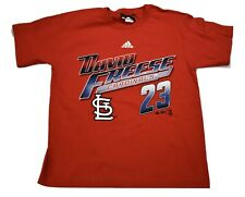 adidas MLB Youth St. Louis Cardinals David Freese Shirt New Look M (10-12)