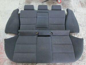 BMW E36 touring interior Rear seats cloth dark grey, from a SE