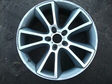 "VAUXHALL ASTRA H 19"" VXR 10 SPOKE ALLOY WHEEL SILVER GENUINE USED 2004-2010"