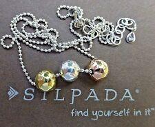 Silpada Fusion Necklace N2850 Sterling Silpada Rose Silpada Sun New in Box