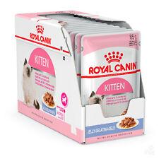 12 Bustine Royal Canin Kitten Instinctive in Gelatina 85 G Gattini Bustina Gatto