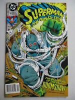 Superman The Man Of Steel #18 1992 - 1st Doomsday full app Newstand Edition