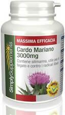 Cardo Mariano 3000mg 360 cpr aiuta a detossificare il corpo E542