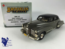 1/43 BROOKLIN BML 7 CADILLAC SERIE 62 4 DOOR SEDAN 1947 GUN METAL / GRAY
