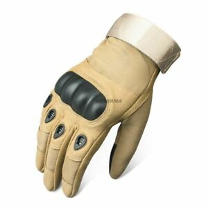 Motorcycle Gloves Touchscreen Full Finger Motorbike Winter Summer Hard Knuckles