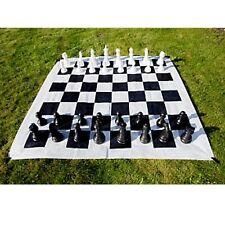 XXL Schach für Garten Terrasse Freiland Spiel Schachspiel
