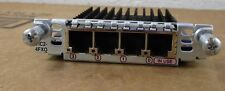 Lot of 2 Genuine Cisco VIC2-4FXO Voice Interface Card HOLOGRAM 90-Day Warranty