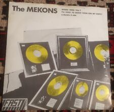 THE MEKONS where were you*i'll have to dance then (on my own) FAST UK 1978 PS 45