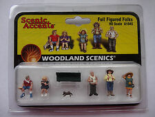 Woodland Scenics Ho #1845 - Full Figured Folks