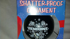 Pittsburgh Penguins Officially Licensed Round Shatterproof Ornament, NHL