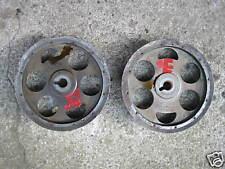 Nockenwellenräder Camshaft Wheels Lancia Delta Integrale 8V 7604560 & 7604561