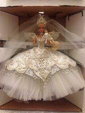 1992 EMPRESS BRIDE BARBIE BY BOB MACKIE IN BOX  W/FRAMED SKETCH  EUC GORGEOUS