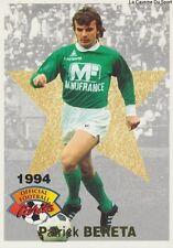 N°005 BERETA LEGENDES # FRANCE AS.SAINT-ETIENNE CARD CARTE PANINI FOOT 1994