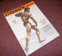 1950 STRENGTH & HEALTH MAG Armand Tanny RARE GAY INT