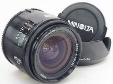MINOLTA AF 24mm 2.8 + Hood