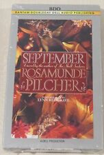 September by Rosamunde Pilcher (1990, Cassette, Abridged)