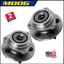 2 Moog Complete FRONT Wheel Hub and Bearing Assembly for 1989-1999 Jeep Cherokee