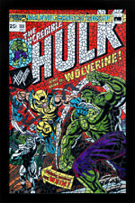 Limited Incredible Hulk Wolverine  #1 (The Second Shattered Variant)