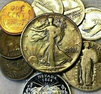 US COIN GRAB BAG ~ 20 CHOICE COINS ~ SILVER, PROOF & BU INCLUDED ~ #1 on EBAY