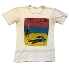 Vintage VTG Rare 1978 The Clash Give Em Enough Rope Album T Shirt Punk Tee Band