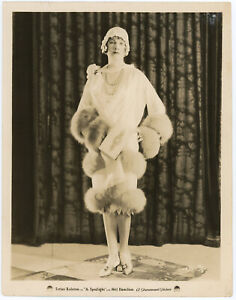 Fashionable Jazz Age Flapper Esther Ralston in The Spotlight Original Photograph