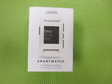 Pebble Classic Smartwatch for iPhone Android 301WH - New