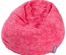 Sitzsack Sitzhocker pink Magma Fluffy XL Magma Sitting Point *Markenprodukt*