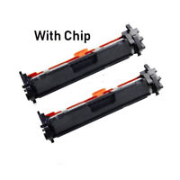 2Pack Toner for HP 17A CF217A M102a M102w M130a M130fn M130fw M130nw With Chip