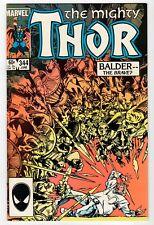 Marvel - The Mighty THOR #344 - 1st Malekith App. - FN June 1984 Vintage Comic