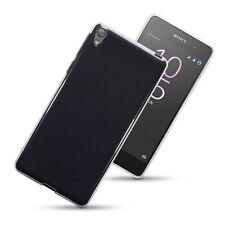 Idefend Sony Xperia e5 Gel trasparente Ultra Sottile Cover Custodia in Silicone + Protettore