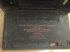 KODAK NO. 3 FOLDING BROWNIE CAMERA ANTIQUE (1909)