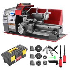 7''x12'' Automatic Mini Lathe Machine 600W Metal Turning Metal Wood Drilling