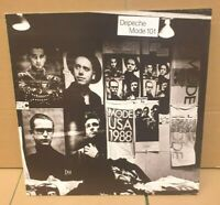 DEPECHE MODE 101 ORIGINAL MUTE 1990 UK 1ST PRESSING 2 x LP & BOOKLET STUMM101 -